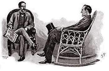 """""""Nothing could be better"""", said Holmes"""
