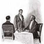 """""""I've not had my 'pology,"""" said he sulkily, glancing in my direction"""