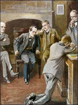 """""""COME, COME,"""" SAID HOLMES, KINDLY, """"IT IS HUMAN TO ERR."""""""