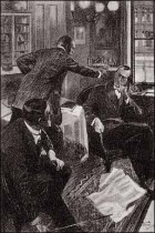 """""""SEE HERE, MASSER HOLMES, YOU KEEP YOUR HANDS OUT OF OTHER FOLKS' BUSINESS."""""""