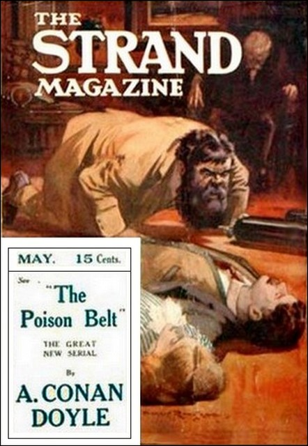The Poison Belt - The Strand Magazine, US edition, May 1913. Source: Project Gutenberg Australia